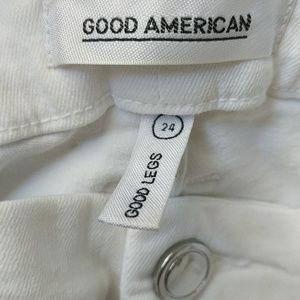 Good American Jeans - Good American PLUS sz good legs lace up jeans NWT